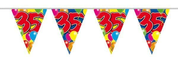 Balloon Design Bunting 35th Birthday