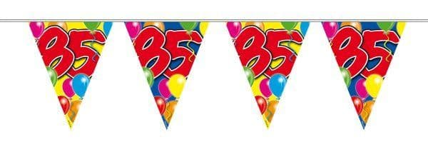 Balloon Design Bunting 85th Birthday