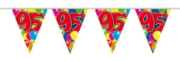Balloon Design Bunting 95th Birthday