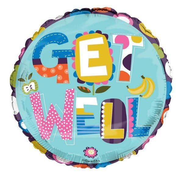 Balloon Foil - Get Well Soon