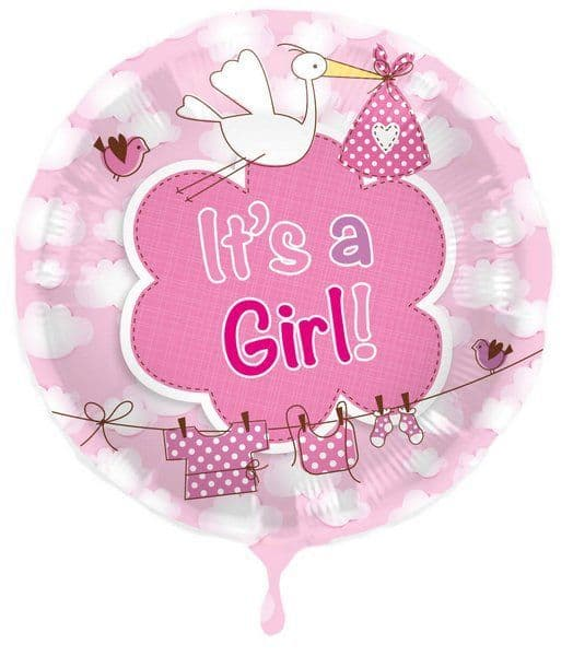 Balloon Foil - New Arrival Its a Girl