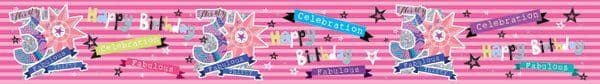 Banner Happy Birthday 30th Female