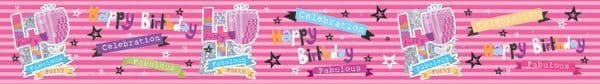Banner Happy Birthday 40th Female