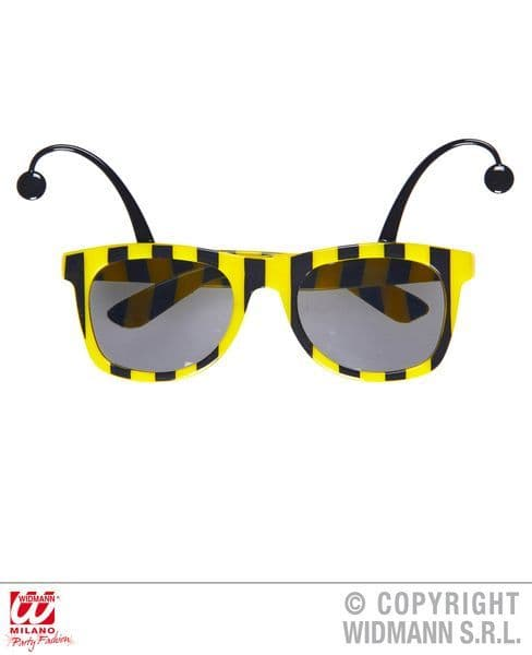 Bee Glasses With Antennas Flying Bug Honey Fancy Dress