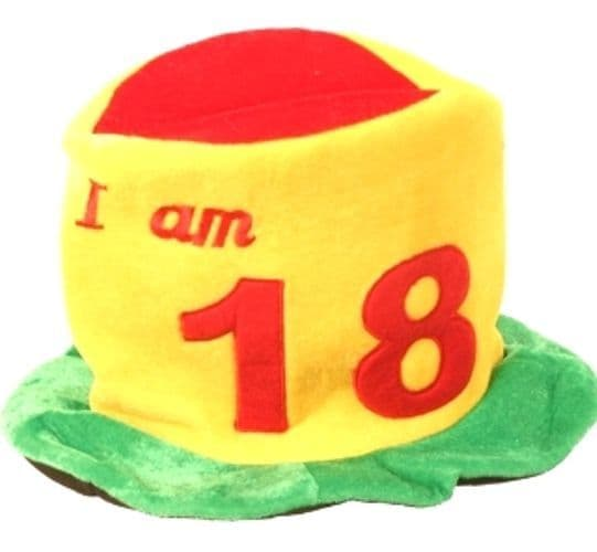 Birthday Hat Ages 18