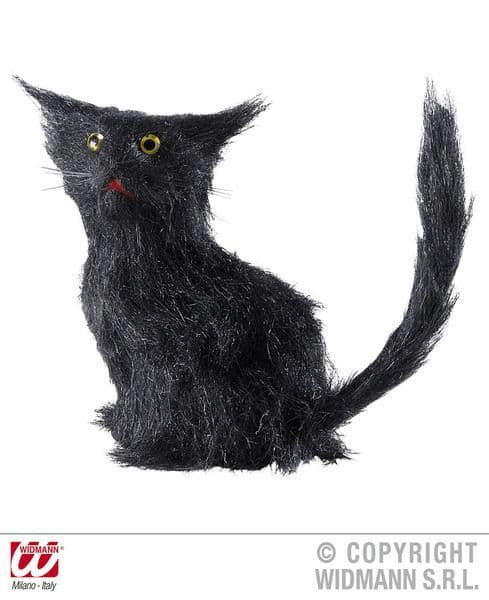 Black Cats 12cm Witch Halloween Haunted House Party Decoration