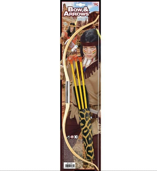Bow And Arrow Set 51cm Decoration Walking Dead Robin Hood Indian Party