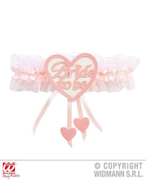 Bride To Be Heart Garter Love Eros Valentine Romantic Fancy Dress