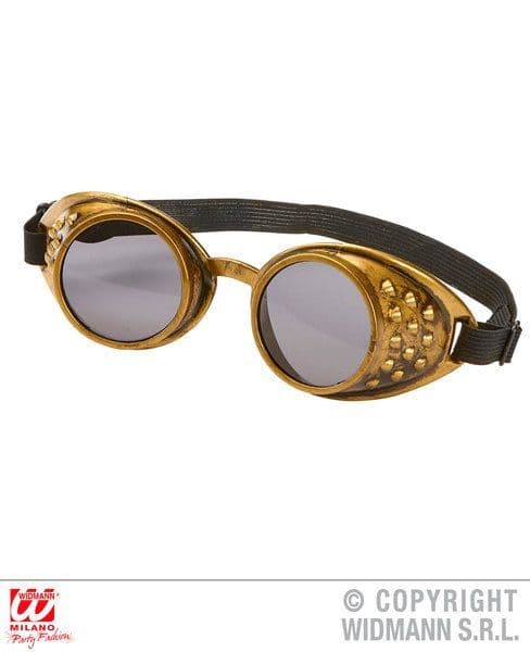 Bronze Steampunk Goggles Victorian Fancy Dress