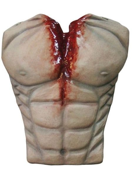 Chest Torso Cover Muscle Bloody Chest Body Part Limb Halloween Zombie