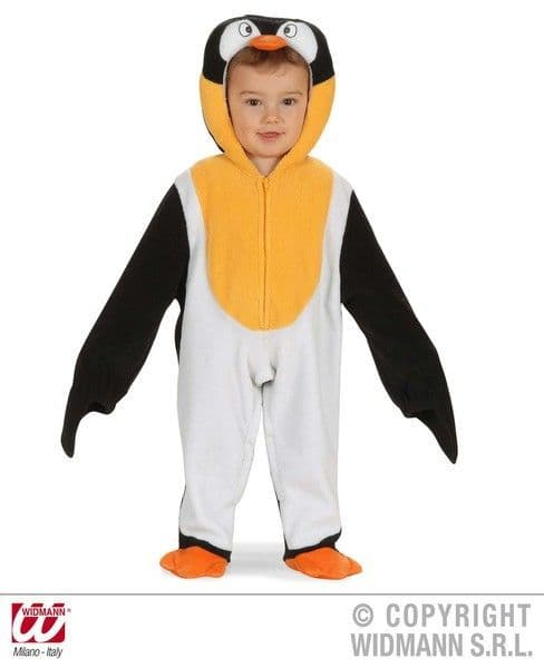 Child Baby Penguin Costume Madagascar Bird Happy Feet Arctic Pole Fancy Dress