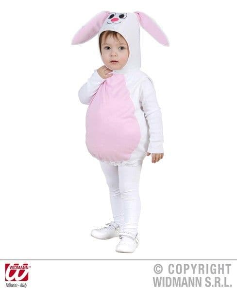 Child Unisex Bunny Costume Easter Rabbit Magician Fancy Dress Cosplay Outfit