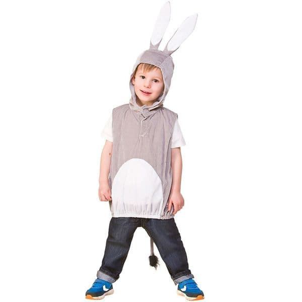 Childrens Child Tabard - Donkey Costume Unisex Fancy Dress