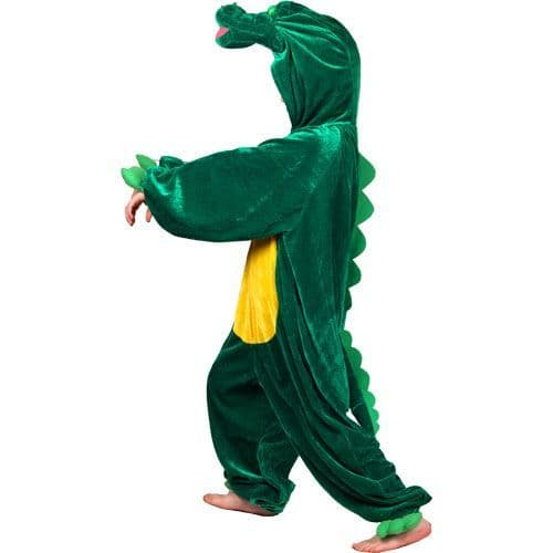 Childrens Crocodile Costume for Aligator Croc Animal Tick Tock Fancy Dress