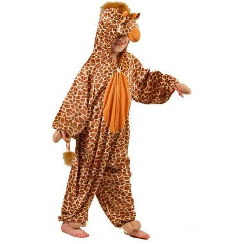 Childrens Giraffe Costume for African Kenyan Animal Safari Fancy Dress