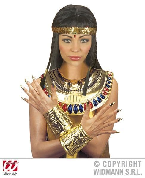 Cleopatra Set Collar And Wristbands Egpytian Queen Pharoah Book Week