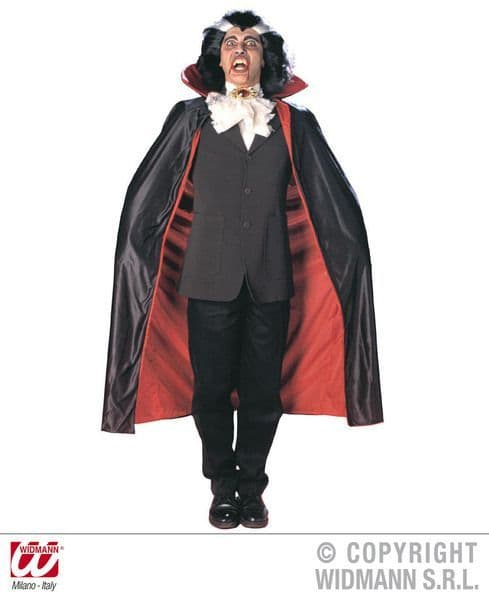 Deluxe Lined Capes With Collar 135 cm Fancy Dress