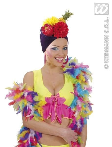 Deluxe Multicolour Feather Boas 20s 30s Chorus Flapper Fancy Dress Party