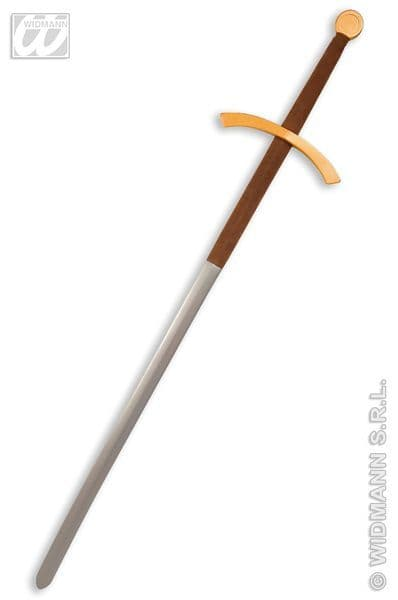 Double Handed Maxi Sword Toy Weapon Plastic Novelty Toy
