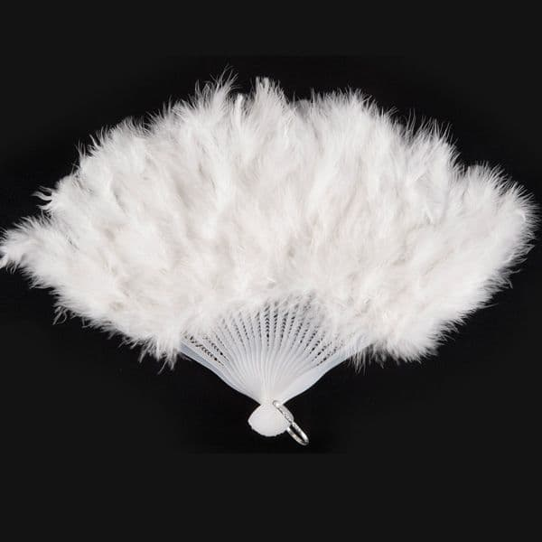 Feather Fan Ostrich 50cm African Australian Big Bird