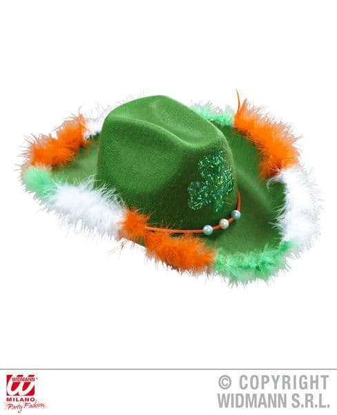 Felt St. Patrick'S Day Party Hat Chicago Michigan New York Carnival Cosplay