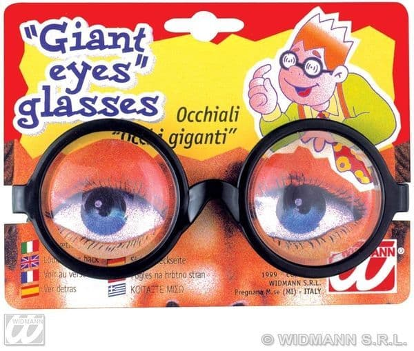 Giant Eye Glasses Novelty Gag Trick Novelty Toy