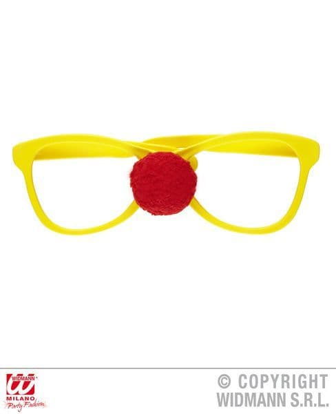Giant Glasses With Clown Nose Carnival Pageant Amusement Park Fancy Dress