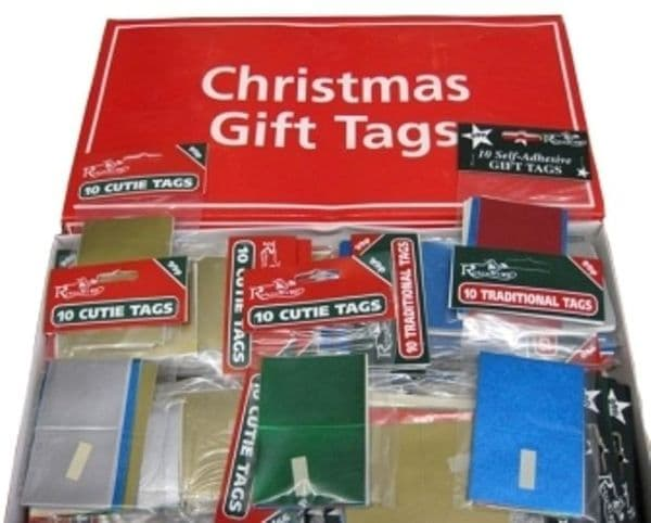 Gift Tags 10 Plain Foil in Packet