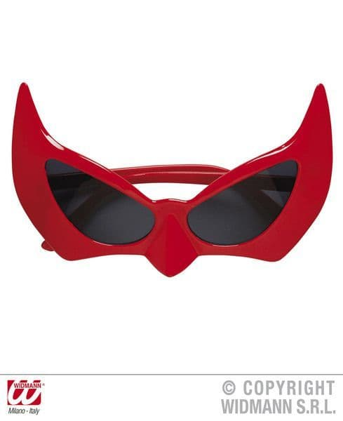 Glasses Devil Halloween Satan Lucifer Fancy Dress
