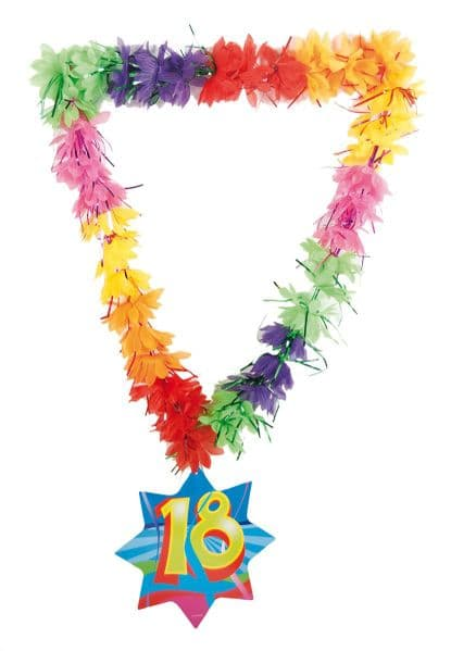 Hawaii Lei Tinsel Happy Hawaiian Alloha Elvis Danno Magnum Five'O Tropical Lua