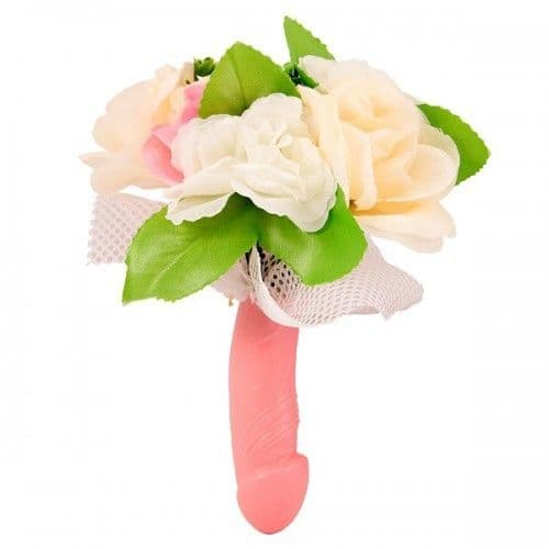 Hen Party Novelty Joke Penis Willy Bouquet with Lace Gift Favor Favour
