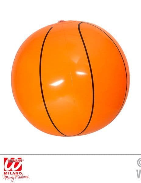 Inflatable Basketball 25 cm Blow-Up Nba College Sport Novelty Swimming