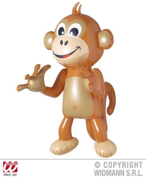 Inflatable Monkey 50cm Blow-Up Cheetah Chimp Typhoo Pg Tips Novelty Swimming