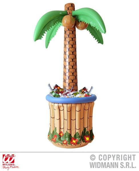Inflatable Palmtree Cooler 182cm Blow-Up Drinks Pool Hawaiian Bbq Novelty