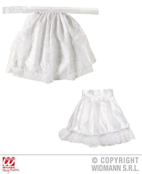 Lace Jabot & Cuffs Pioneer Victorian Fancy Dress