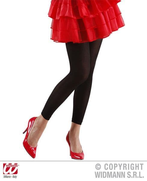 Ladies Leggings Cosplay Outfit Accessory Pants 50s 80s Fancy Dress