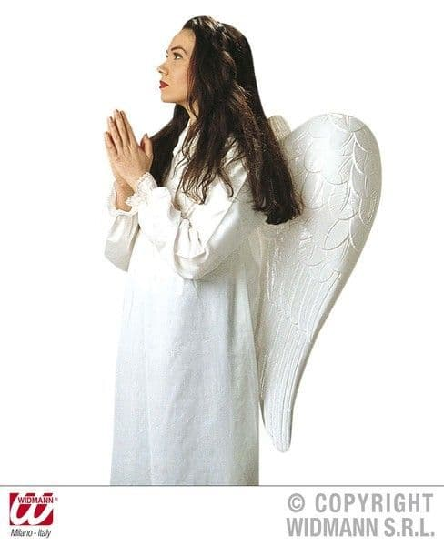 Maxi Angel Wings Approx 33Inx30In Festive Christmas Holy Nativity Fancy Dress