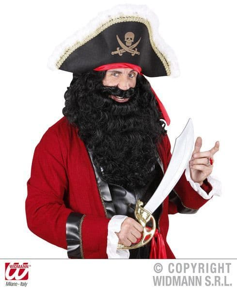 Maxi Beards High Seas Buccaneer Hijacker Sailor Fancy Dress