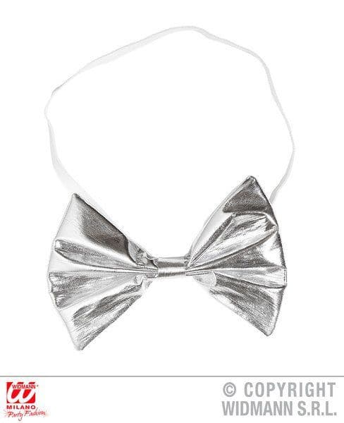 Metallic Clown Bow Tie Decoration Carnival Pageant Amusement Park Party