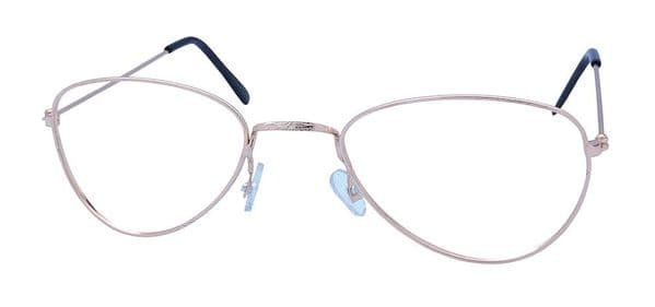 Old Lady Glasses No Lense Elderly Nan Grandmother OAP Fancy Dress Accessory