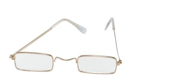 Old Man Glasses Elderly Nan Nanny Grandmother OAP Fancy Dress Accessory