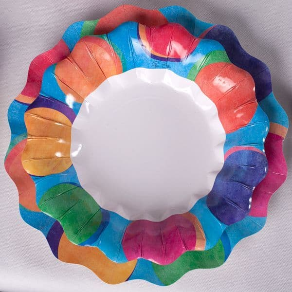 Panarea Bowls Card 24cm 10's Party BBQ Wedding Birthday Disposable Tableware