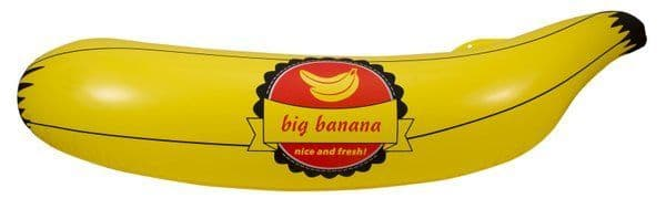 Party Inflatable Banana 70cm x 20cm Food Fruit Cosplay