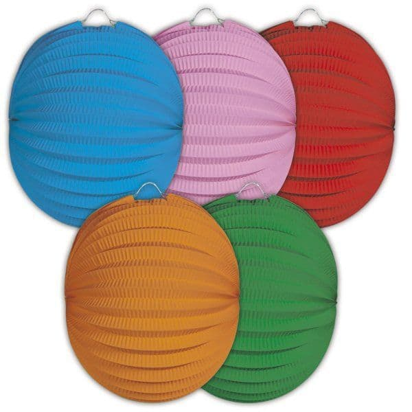 Party Lantern Round Assorted Hawaiian Chinese lampion