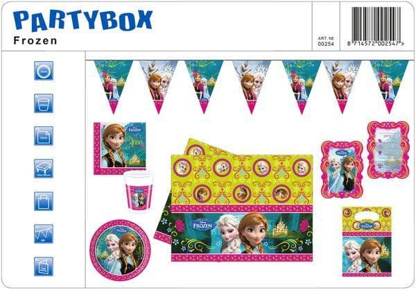 Party Package Frozen Snow Princess Queen