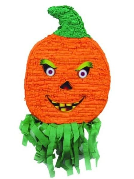 Pinata Halloween Pumpkin Creepy Trick Treat