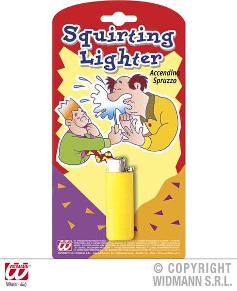 Squirting Lighter Novelty Gag Trick Novelty Toy
