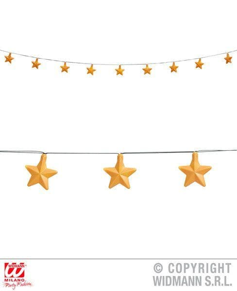 Stars Light Chain Garland Christmas Decoration Xmas Festive Party