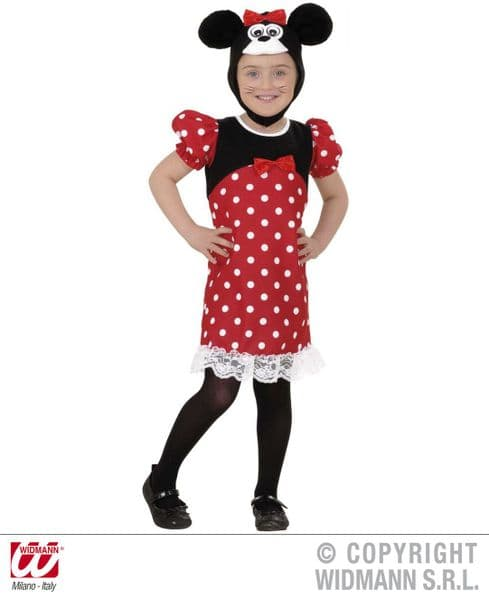 Toddler Mouse Toddler Costume Fancy Dress