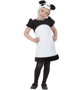 Toddlers Panda Costume Book Week Fancy Dress